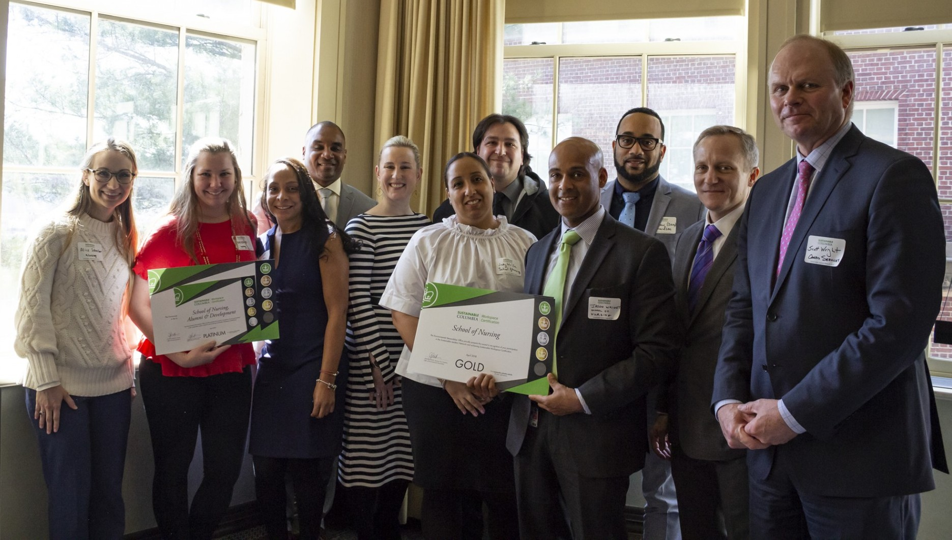 School of Nursing Green Council is recognized