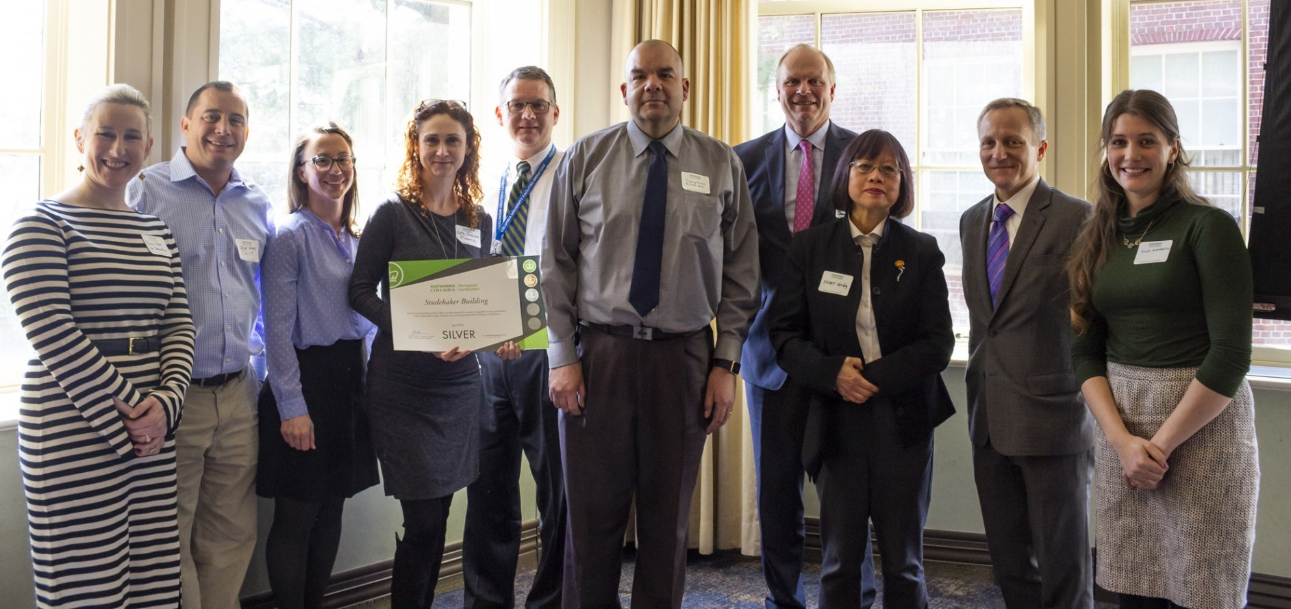Studebaker building Green Council is recognized