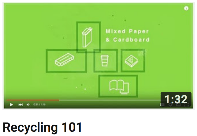 Recycling 101 Video
