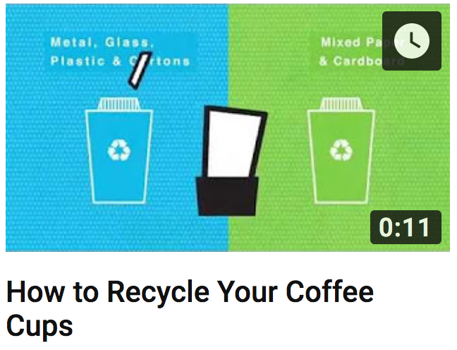How to Recycle Your Coffee Cups